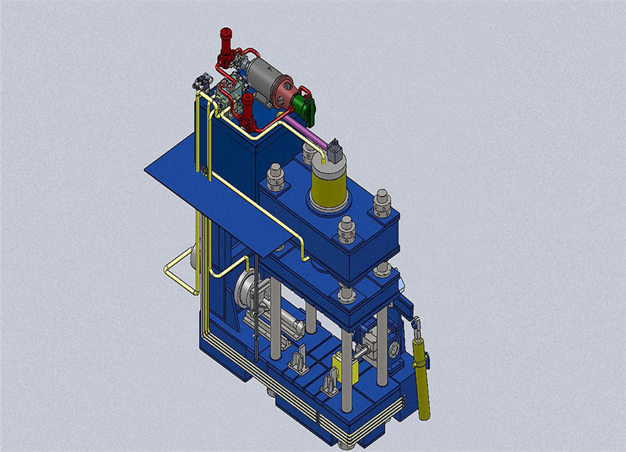 Mandrel Type Cold Forming Elbow Making Machine