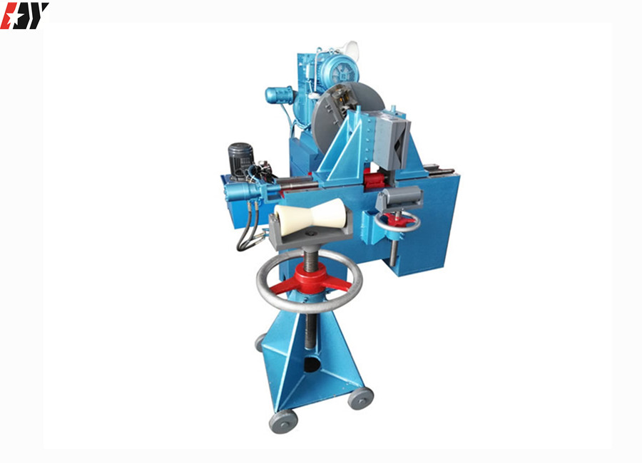 Q1245 Hydraulic Electric Beveling Stationary High Speed Pipe End Bevelling Machine