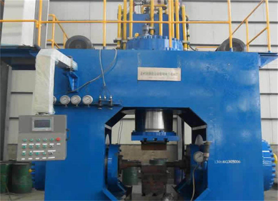 Tee Cold Pushing Forming Machine With Certificate