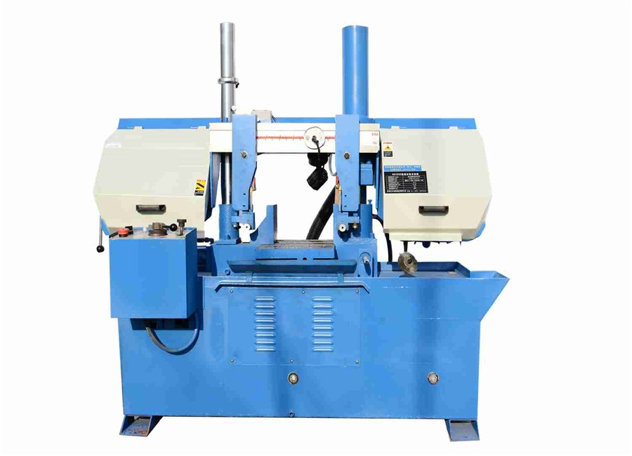 Double Column Sawing Machine Horizontal Angle Degree Miter Band Saw Machine