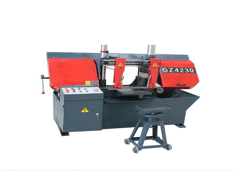 Horizontal Band Saw Machine Suppliers CNC Double-column Semi-automatic Band Saw Machine for Cutting Metal