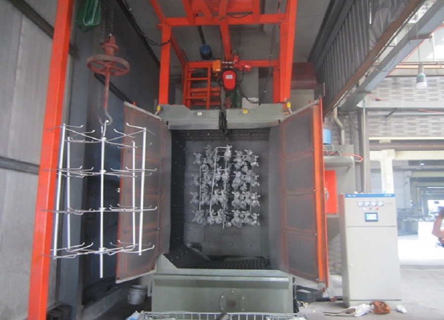 China Supplier Bulk Casting Special Hook Type Shot Blasting
