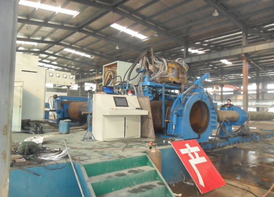 Line pipe bends making machine from China