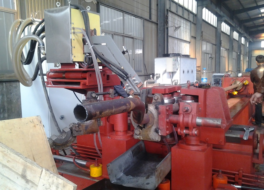 Traffice Bends making induction Steel Pipe Bending Equipment