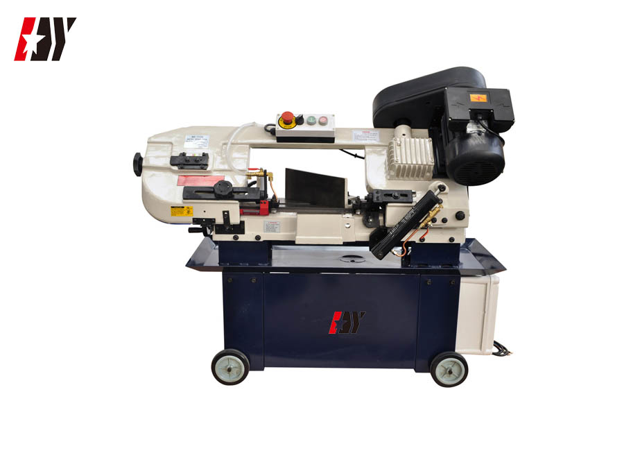 Semi Automatic High Speed Portable Metal Cutting Bandsaw