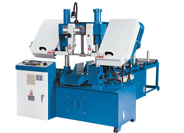 GHS4228 Dual Column Horizontal Band Saw Machine for Metal Cutting